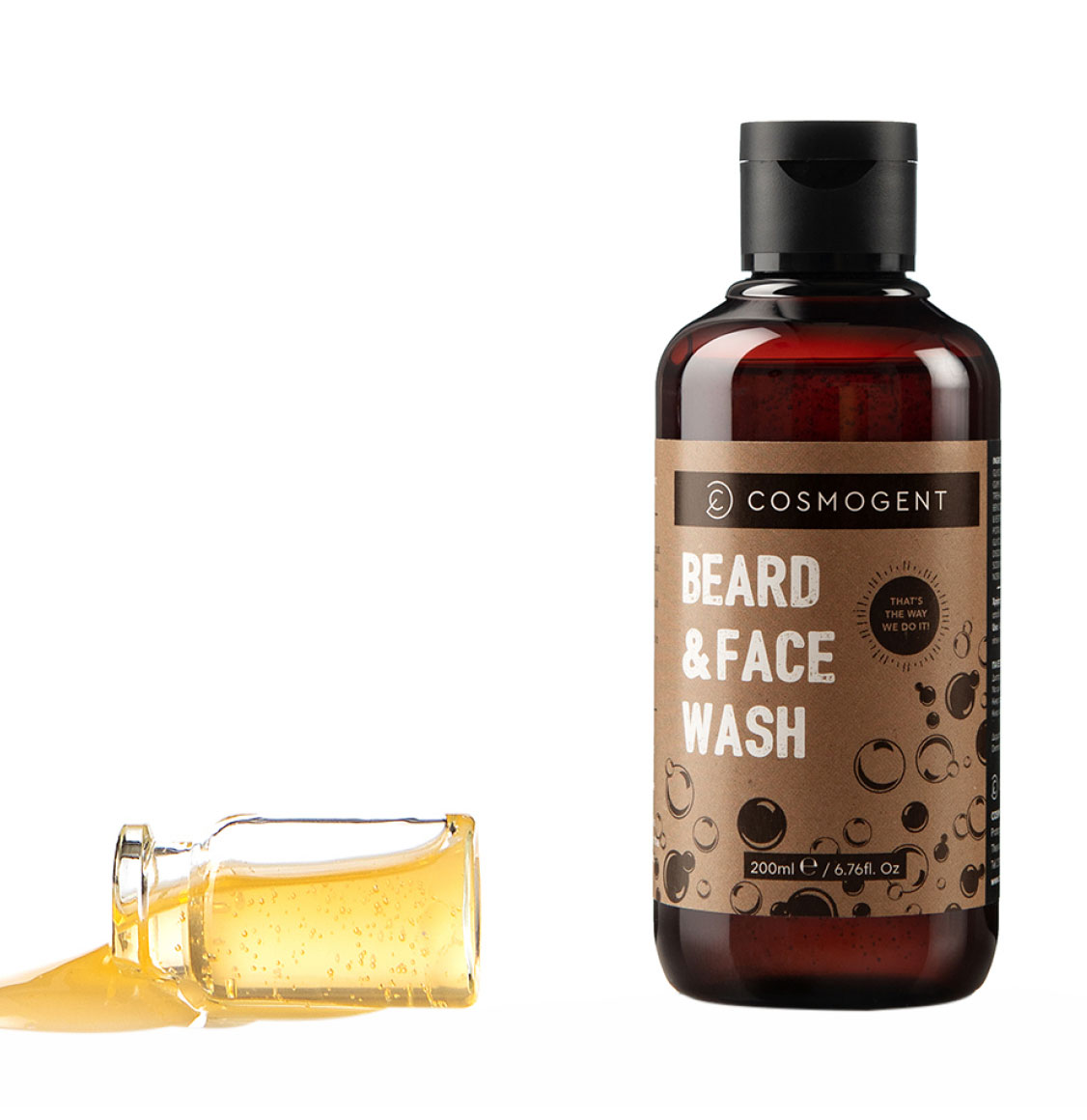 Cosmogent Σαμπουάν Γενειάδας Beard And Face Wash 200ml