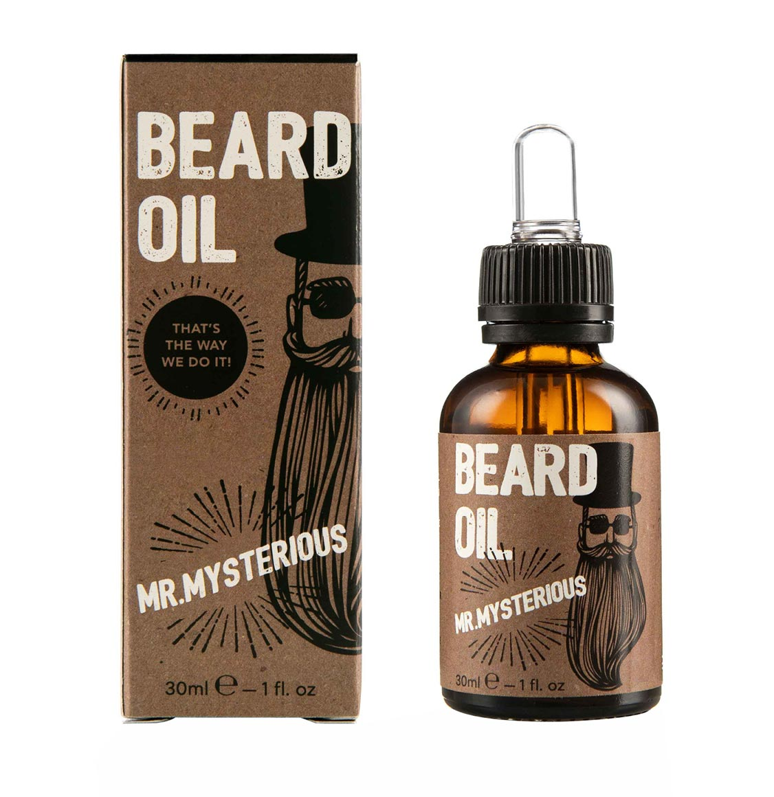 Cosmogent Λάδι Γενειάδας Mr. Μysterious Beard Oil 30ml
