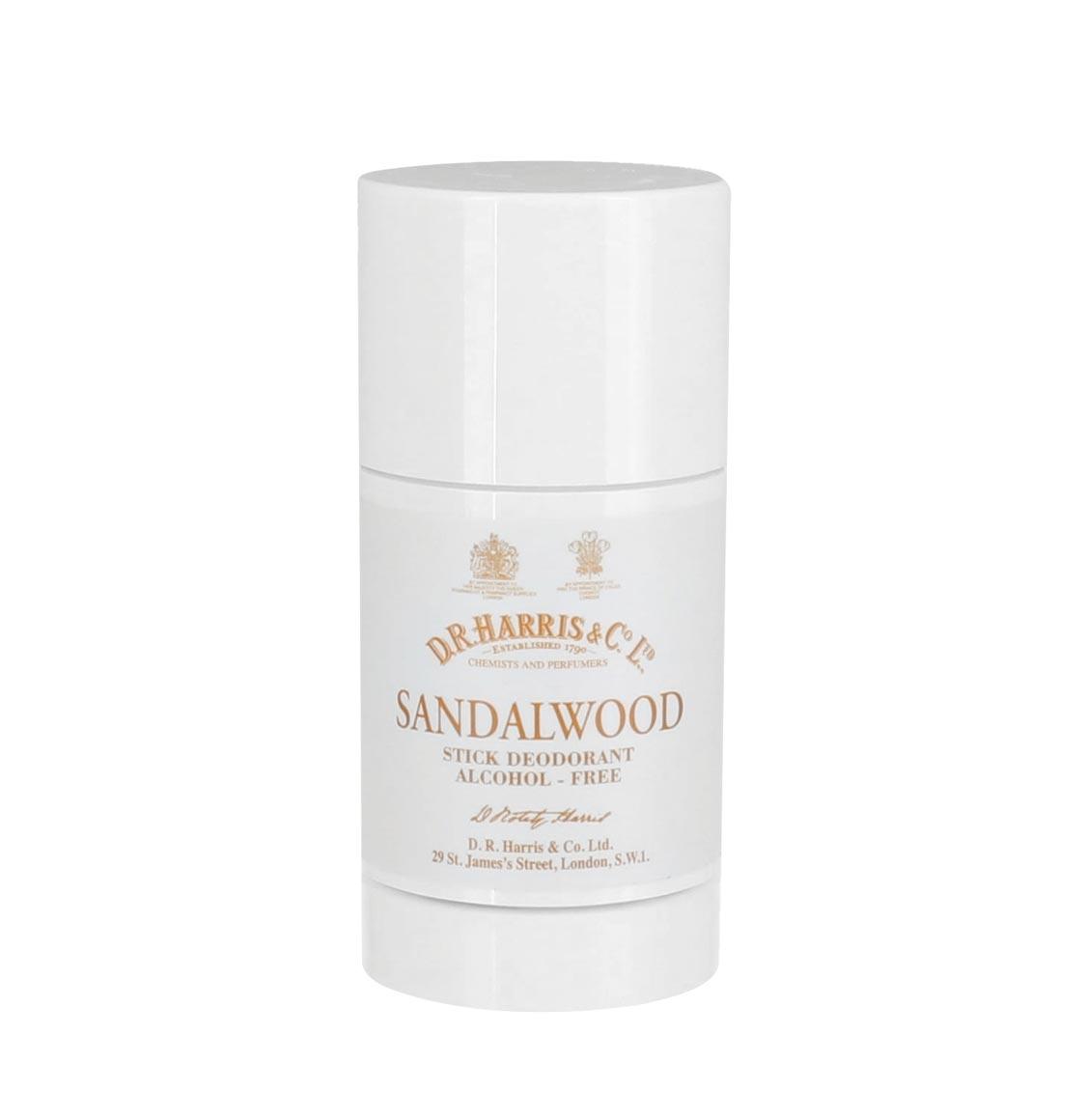 D R Harris Sandalwood Alcohol-Free Antiperspirant Deodorant Stick 75g