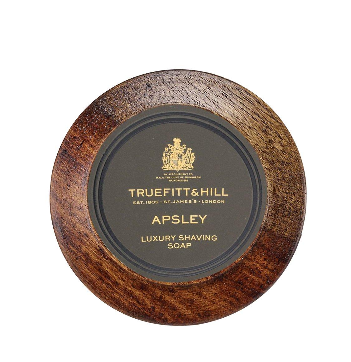 Truefitt And Hill Apsley Shaving Soap In Wooden Bowl 99g