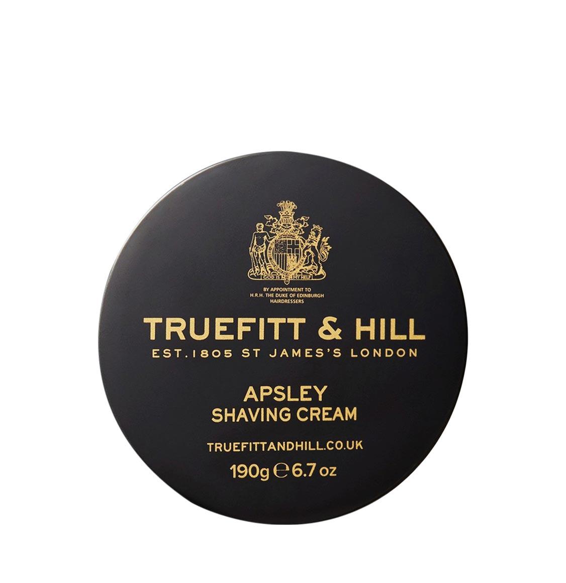 Truefitt And Hill Apsley Shaving Cream Bowl 190g