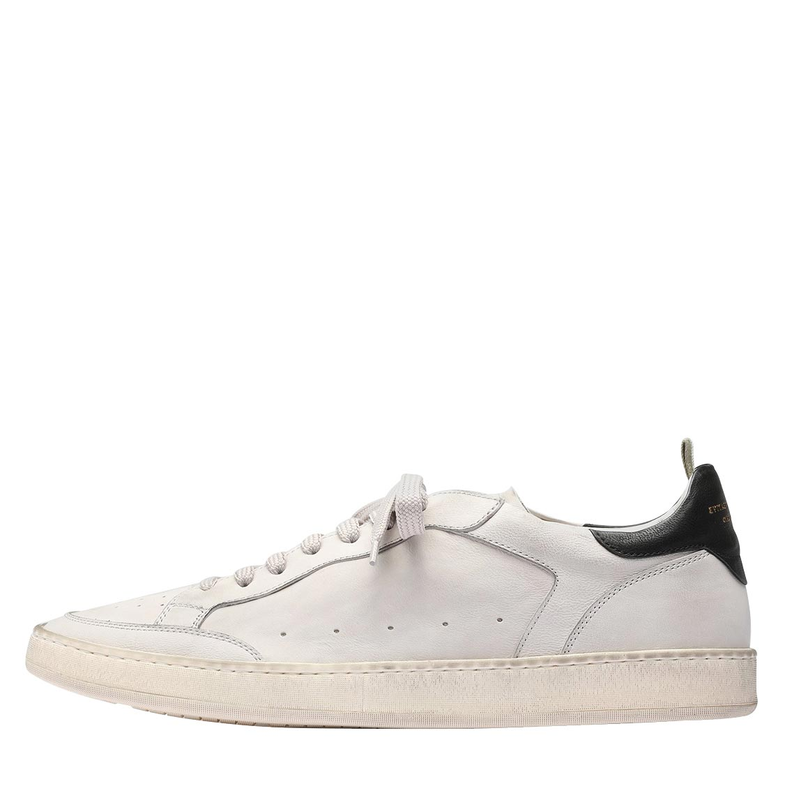 Officine Creative Kareem Dirty Ivory Leather Sneakers