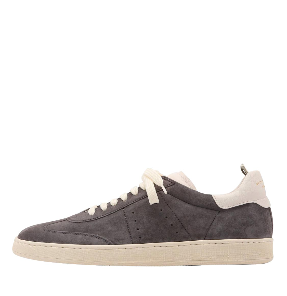 Officine Creative Kombo Grey Suede Leather Sneakers