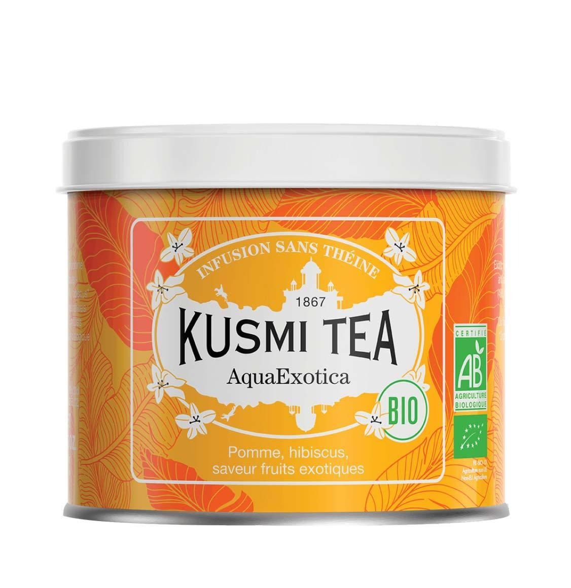 Kusmi Organic Aqua Exotica Loose Tea 100g