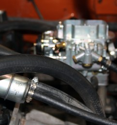 10 let s leave the linkages for last go ahead and and connect your new fuel filter or adjust the one you have to make room for the fpr  [ 1200 x 800 Pixel ]