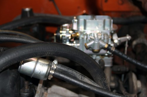 small resolution of 10 let s leave the linkages for last go ahead and and connect your new fuel filter or adjust the one you have to make room for the fpr