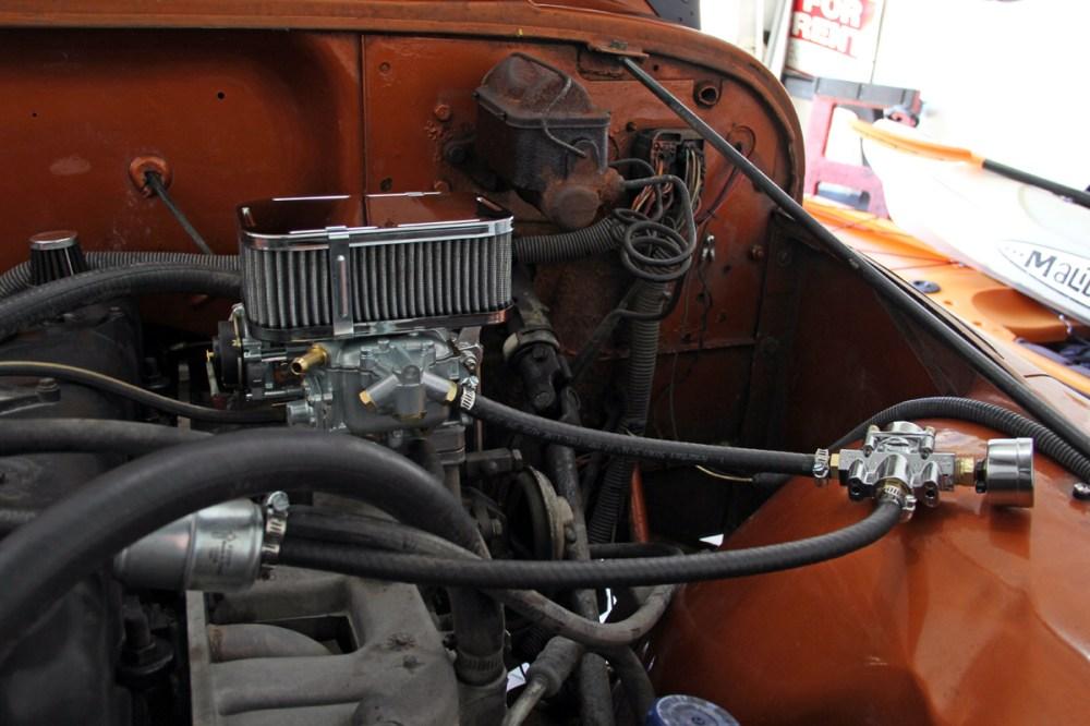 medium resolution of weber carburetor installation on jeep 258 the project guy slant 6 engine carburetor on 1990 jeep wrangler carburetor diagram