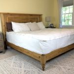 The Project Lady Diy King Sized Bed Frame