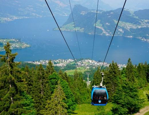 Gondola up Mount Pilatus - The Project Lifestyle