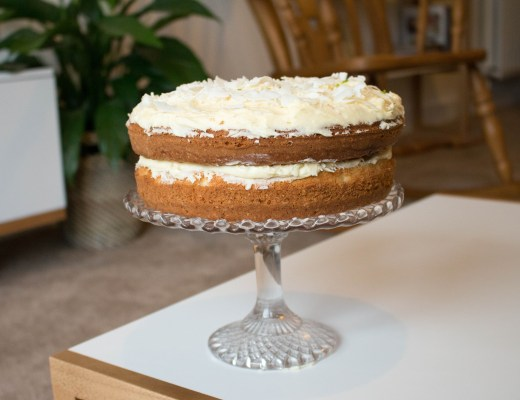 Coconut and Lime Cake Recipe - The Project Lifestyle