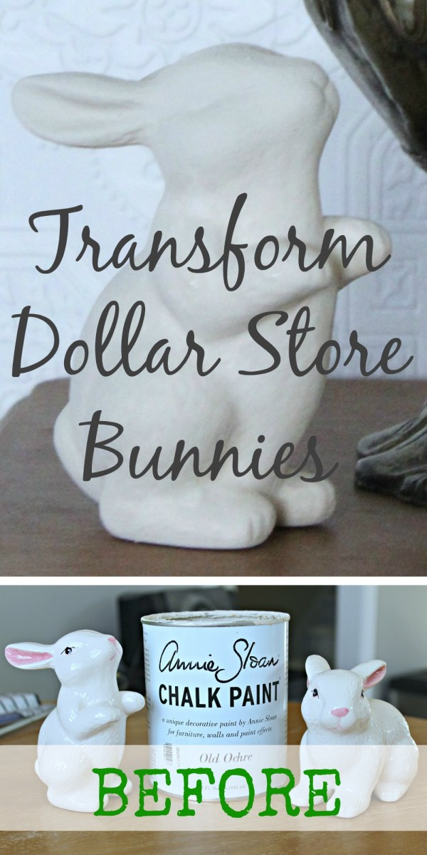 Easter Bunnies -- Dollar-Cheap to Super-Chic!