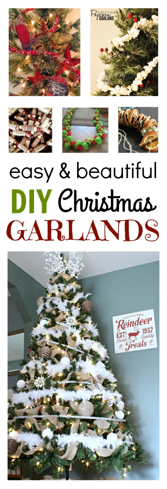 Burlap archives theprojectpiletheprojectpile are you having trouble finding the perfect garland for your christmas tree or perhaps you are just a little bit tired of the shiny tinsel garlands that solutioingenieria Image collections