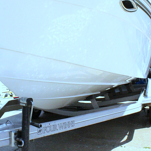 How to Get Rid of that Icky Grime Line on your Boat!