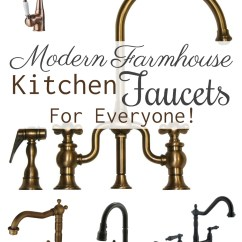 Farmhouse Kitchen Faucet Outdoor Cabinet Ideas Modern Faucets For Everyone Theprojectpile Comtheprojectpile Com