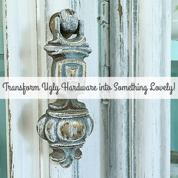 Transform Ugly Hardware into Something Lovely!