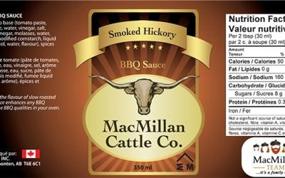MacMillan BBQ Sauce