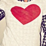 Tut Tuesday: DIY Heart T-shirt