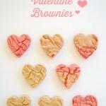 Recipe: Colorblocked Valentine Brownies