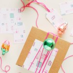 Printed \ Giftwrap Printables & Download (+ A Giveaway!)