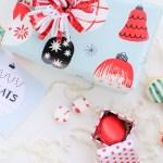 Printed \ Printable Holiday Treat Labels