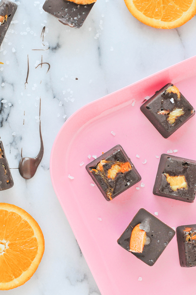 Orange & Olive Sea Salt Chocolates