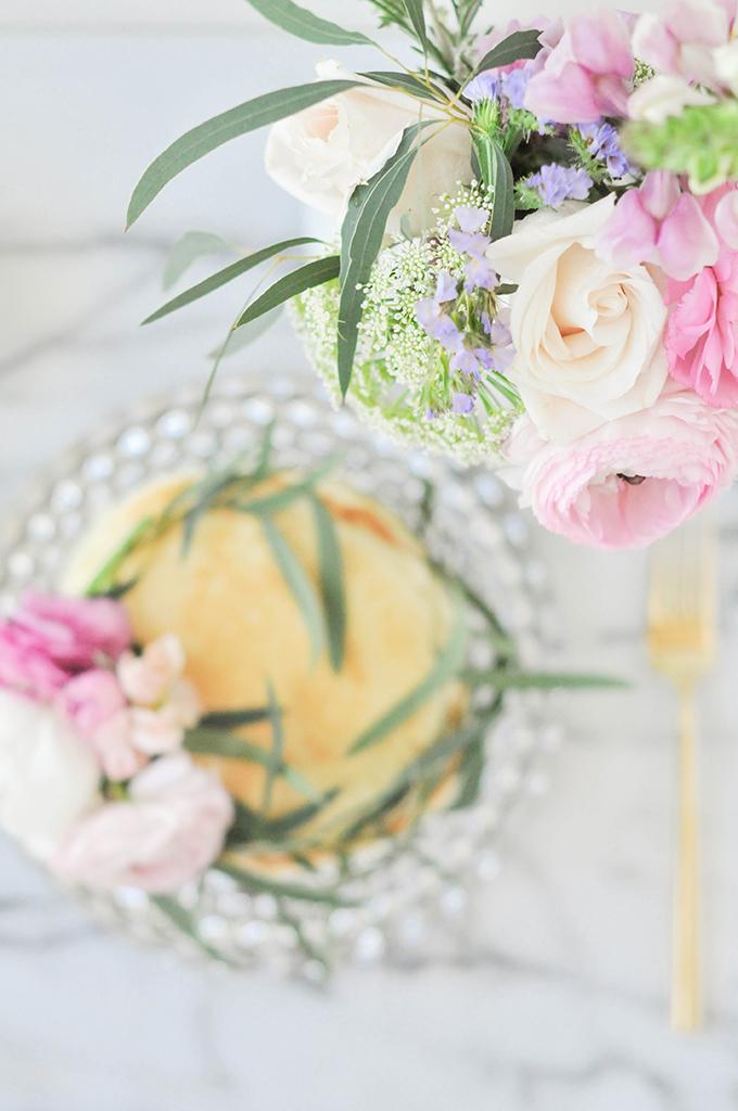 DIY Floral Pancake Wreath