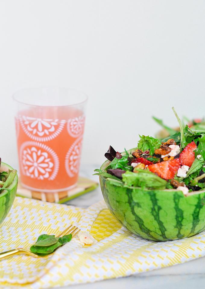 DIY Watermelon Bowls