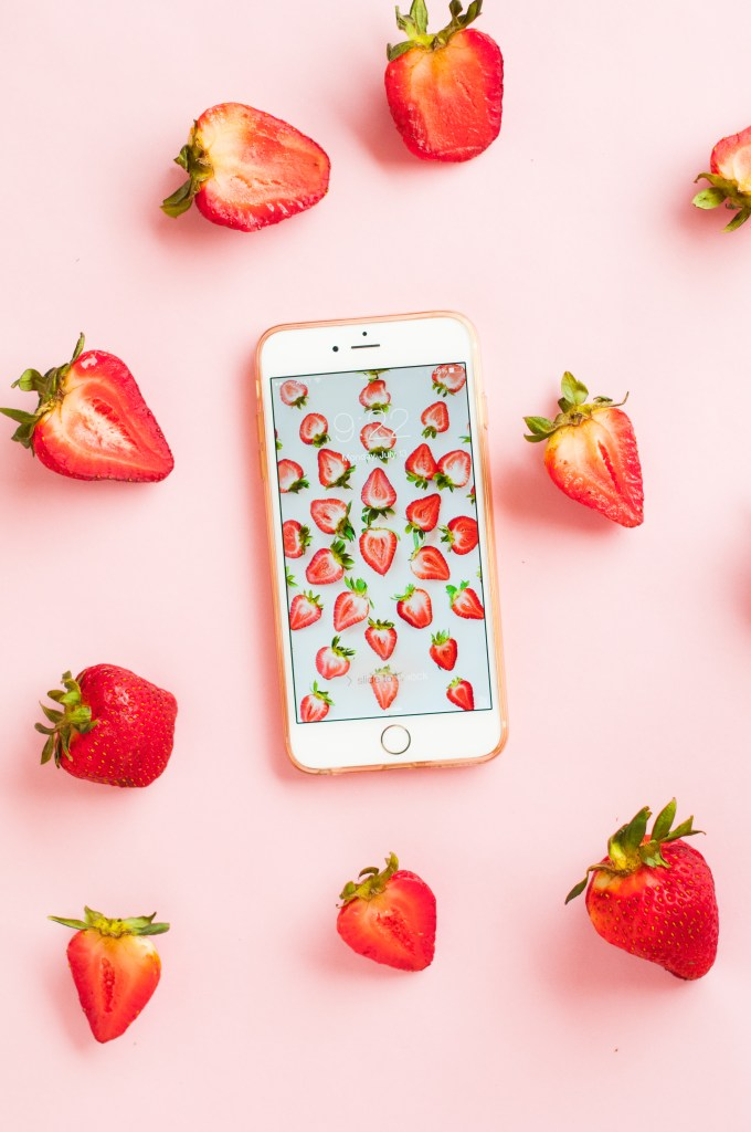 Printed Strawberry Wallpaper Download A New Series