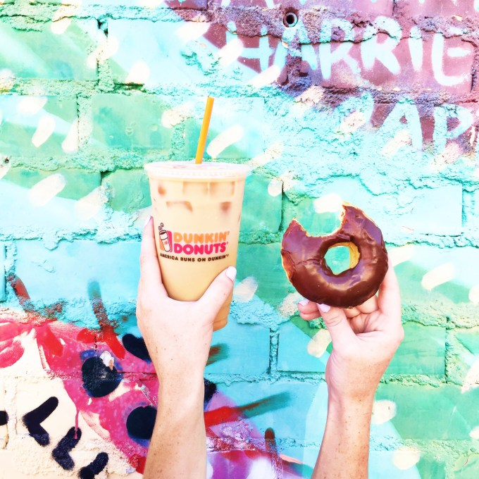 Instagram takeover with @theproperblog & @DunkinDonuts