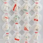 DIY Lattice Advent Calendar