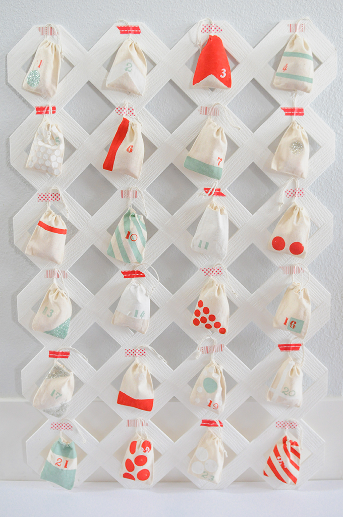 15 mod, colorful, and all-around-awesome advent calendars to make this year