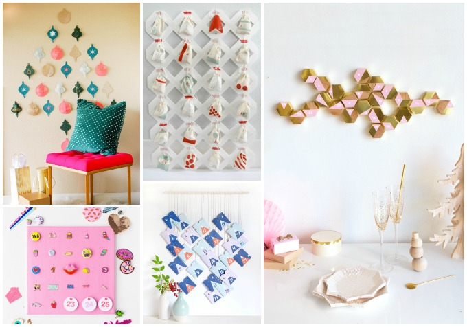 14 mod, colorful, and all-around-awesome advent calendars to make this year