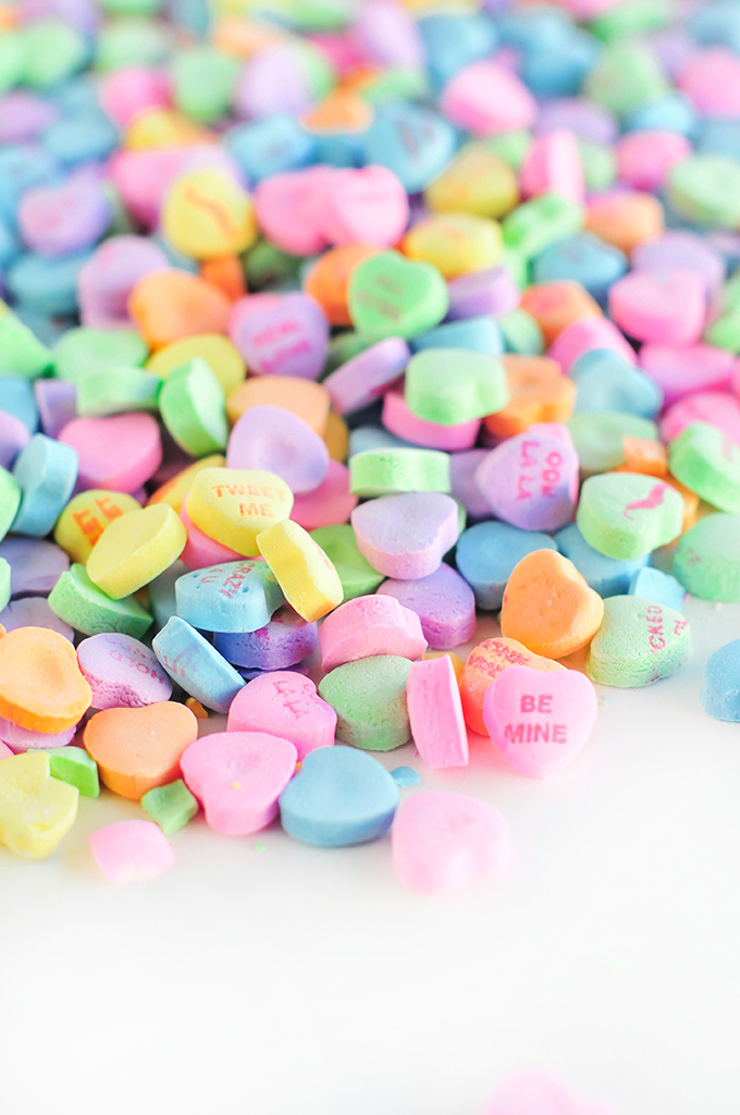 Conversation Hearts Wallpaper Download