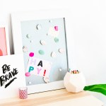 DIY \\ Easy DIY Gem Magnets To Dress Up Your Workspace