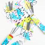 #ProperPrintables \\ Abstract Printable Firework Labels
