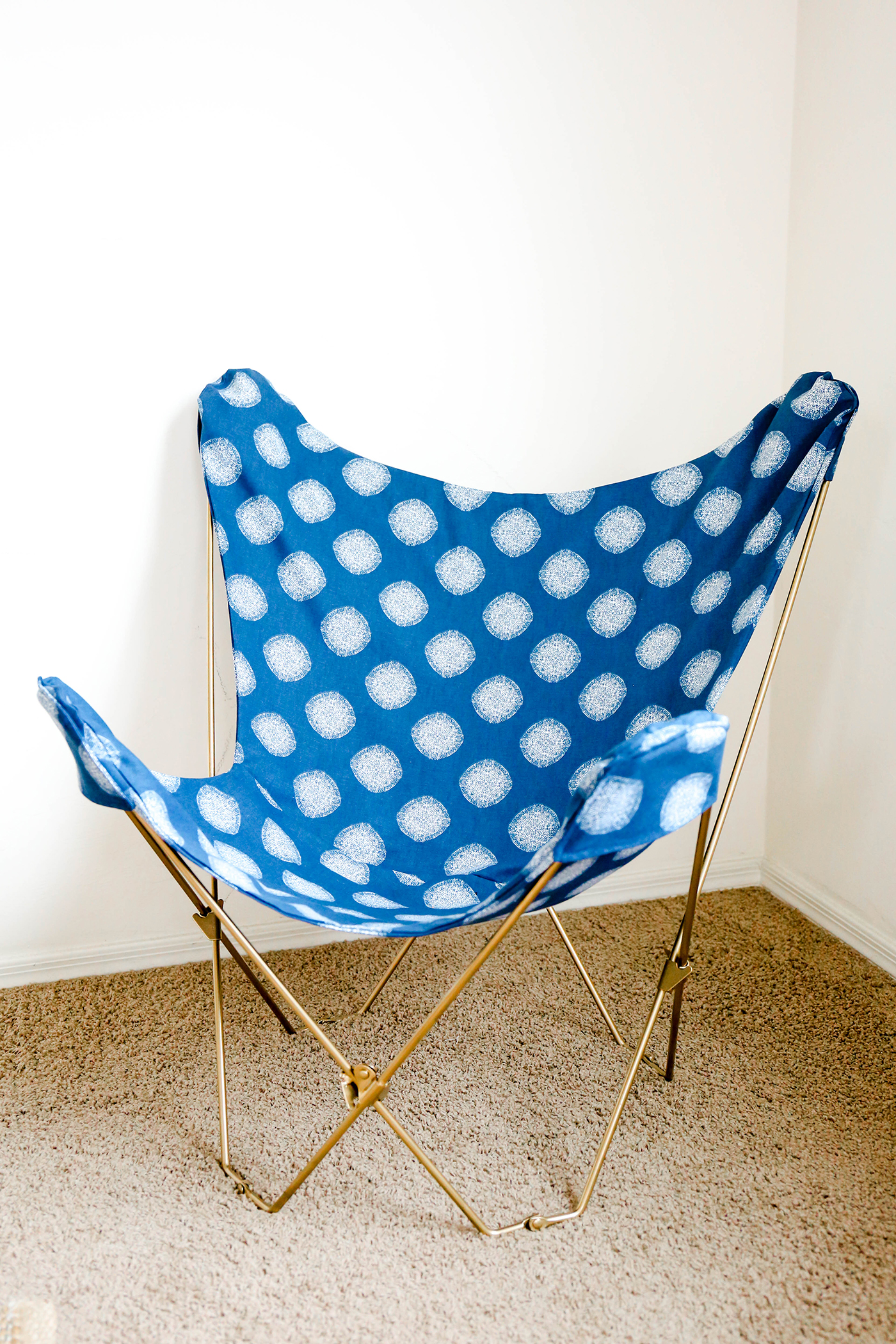 butterfly chair covers diy booster seat for table make this  makeover in one afternoon