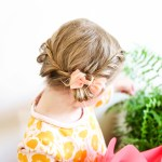 How To Win Weekday Mornings: Two Step Toddler Braid Hack
