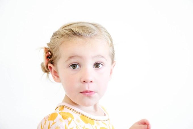 Toddler Braid Hack    www.theproperblog.com