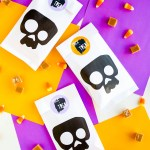 #ProperPrintables \\ Trick Or Treat Stickers To Dress Up Your Halloween Treats