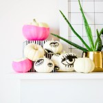 EYE'M WATCHING YOU \\ DIY Tattooed Pumpkins with Printable Eyes