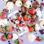 #ProperPrintables \\ Melted Scoops Ice Cream Wallpaper Download