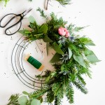 Wreath Wonderland \\ DIY Wreath & A Recap Of The Holiday Wreath Workshop