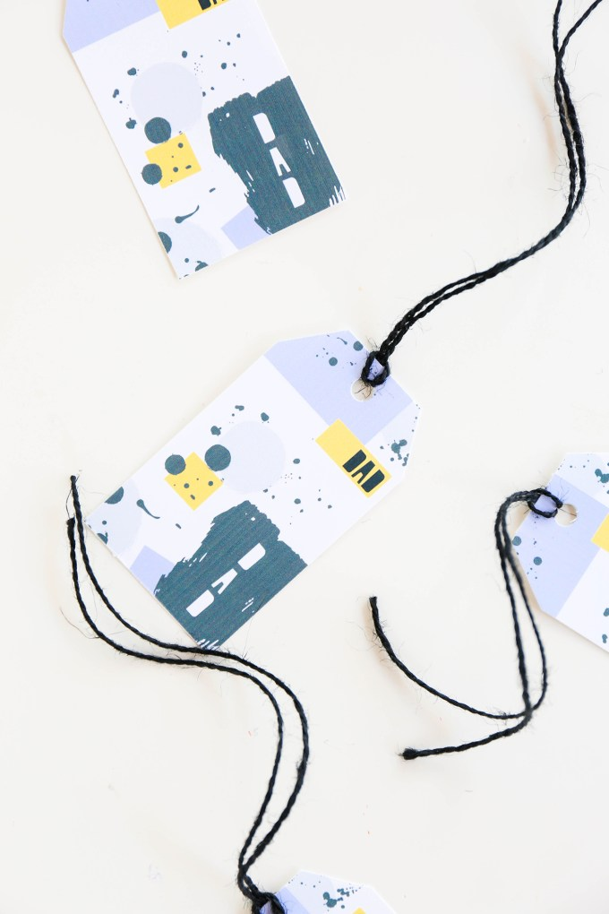 Printable Gift Wrap & Tags For Father's Day