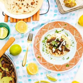 #TasteIt \\ Indian Spiced Steak Tacos Recipe