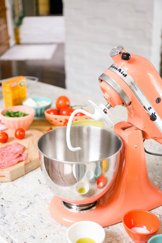 kitchenaid mixer bird of paradise