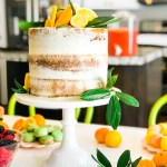 Orange You Glad \\ A Simple Citrus-Themed Baby Shower