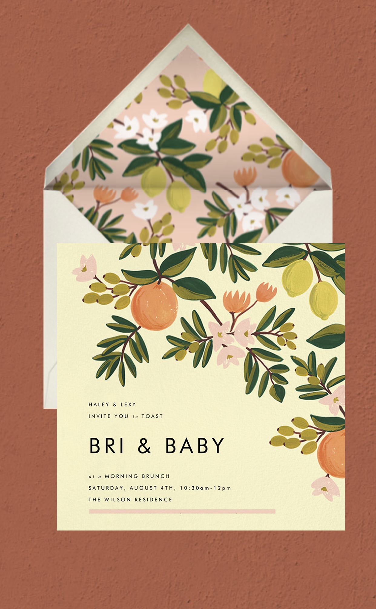 Orange You Glad A Simple Citrus Themed Baby Shower