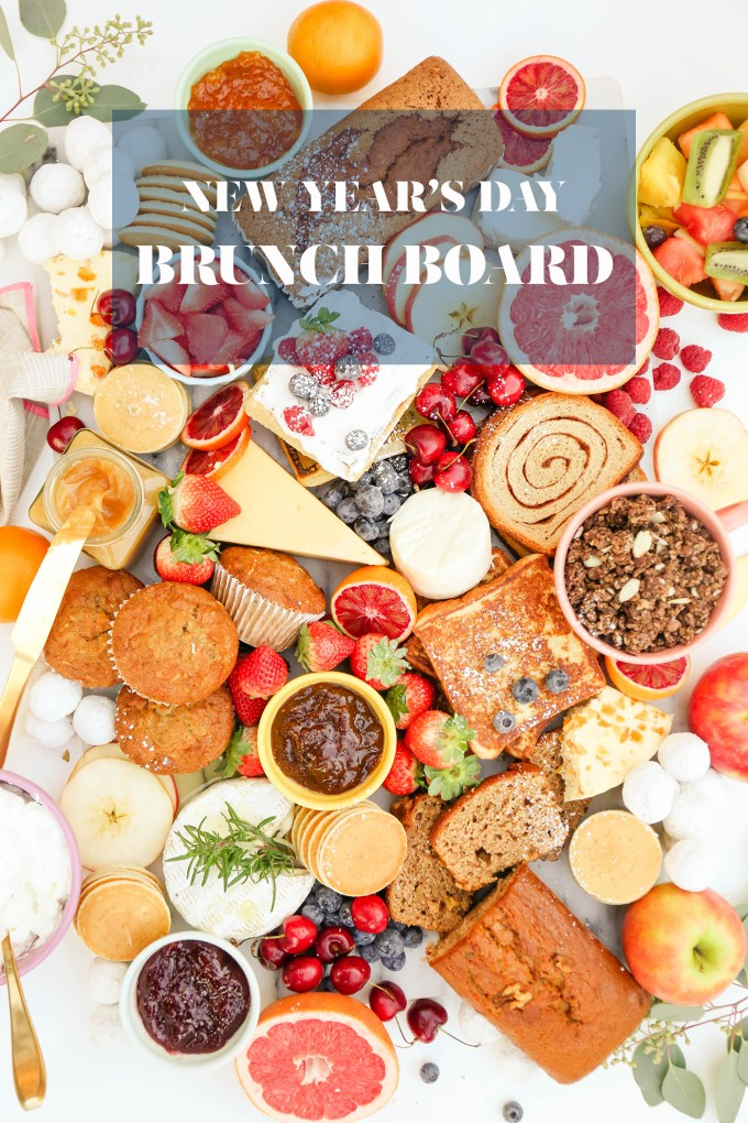 #TasteIt A New Year's Day Brunch Board