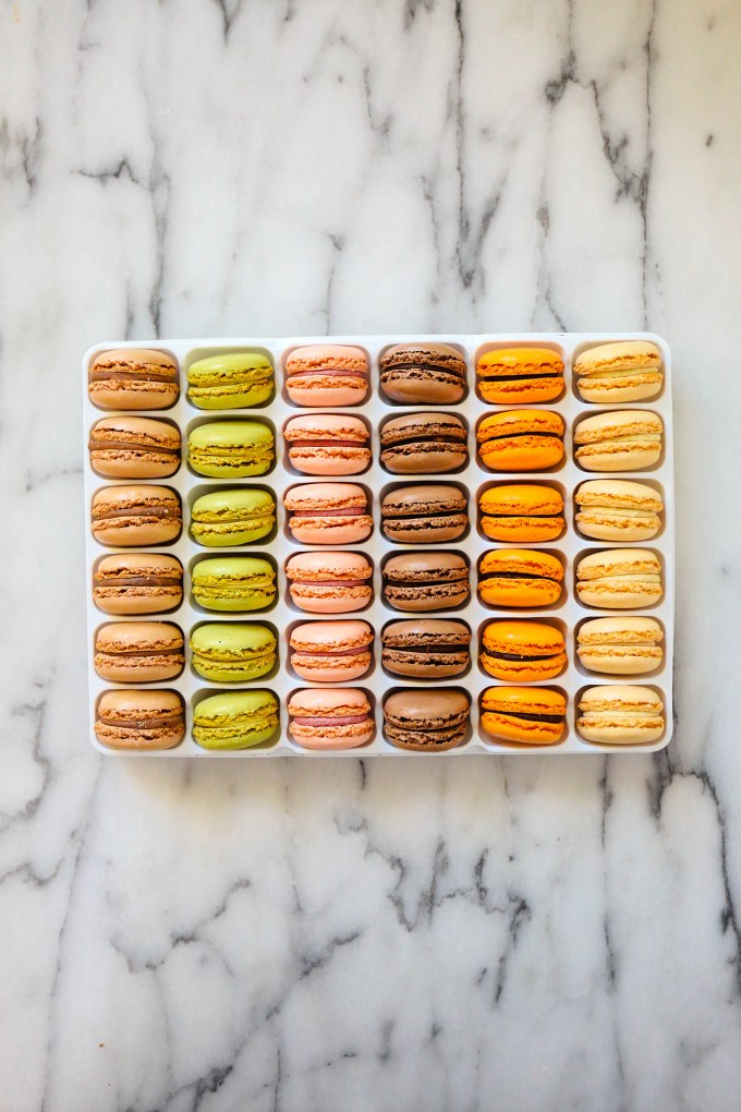 store-bought macarons