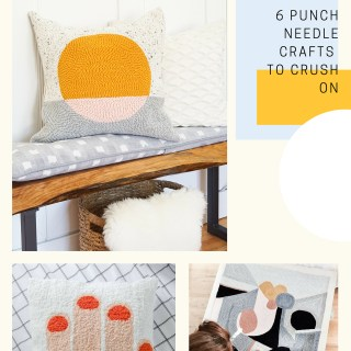 6 punch needle crafts to crush on